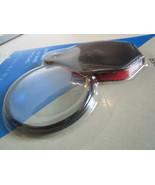 Pocket MAGNIFYING GLASS w/ case Adults Men Kids Educational - $3.61