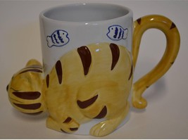 JC Penney Home Collection 3D Figural Cat Kitty Kitten ~ Coffee Cup Mug - $24.95