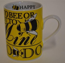Department 56 ~ To Bee Or Not To Bee ~ Buzz Do Honey Happy Let It Be ~ Cup Mug - $21.95