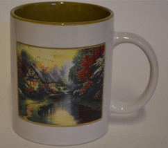 2003 A Quiet Evening by Thomas Kinkade  ~ Cottage Flowers ~ Coffee Cup Mug - $19.95