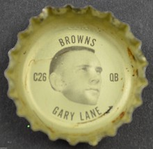 Vintage Coca Cola NFL Bottle Cap Cleveland Browns Gary Lane Coke King Si... - $4.99