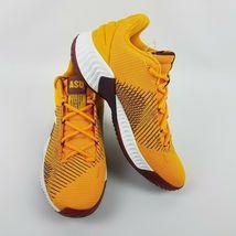 adidas Mens Pro Bounce 2018 Low ASU Basketball Shoe NCAA B41866 Size 9 image 3