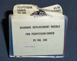STYLUS NEEDLE for ELAC DNM106 Perpetuum Ebner PE-186 188 ELAC KST-106 330-DS73 image 2