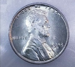 1943 S MS67   LINCOLN WHEAT STEEL WAR CENT/PENNY   * RARE THIS GRADE . 930 - $122.50