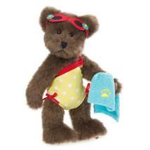 "Boyds Bearstone ""Sandy Seashell"" #02014-31 - 8"" FoB Plush Bear-New- 2014 - $29.99"