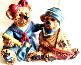 "Boyds Bearware Pottery ""Elvira & Chauncy"" #390026 -1E- S&P- NIB - $15.99"