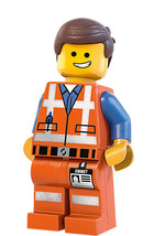 """EMMET #2 LARGE WALL DECAL LEGO 40""""X20"""" - $29.69"""