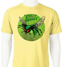 Green Hornet Dri Fit graphic Tshirt moisture wicking superhero comic SPF tee image 2