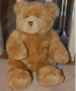 "Build a Bear Workshop Blonde Bear 14"" - $8.00"