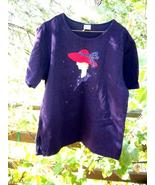 RED HAT SOCIETY Jewelled & Appliqued Shirt! - $5.00