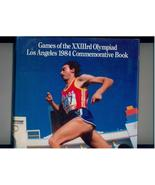 Commemorative Book of 1984 L.A. Olympics in dust jacket - $5.00
