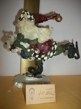 Boyds Bears Santa Quick As A Flash Figurine Box Carver Choice Home Holiday Decor - $28.49