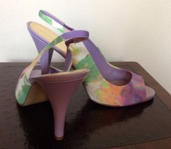 Nine West Multicolor Shoes Size: 10.5 М New Ship Free Fabric Upper Туфли - $128.00
