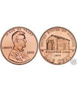 GEM BU 2009-P LOG CABIN LINCOLN CENT~1ST CENT~FREE SHIP - $1.56