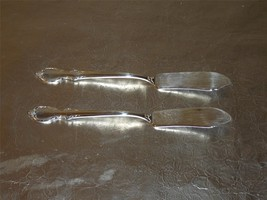 Pair of 1847 Rogers Reflection (1959) flat handle master butter knives VGU - $13.99