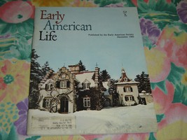 Early American Life magazine - December 1980 very good condition - $10.99