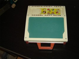 Vintage Fisher Price School Days (1972) desk magnetic letters numbers GUC - $14.99