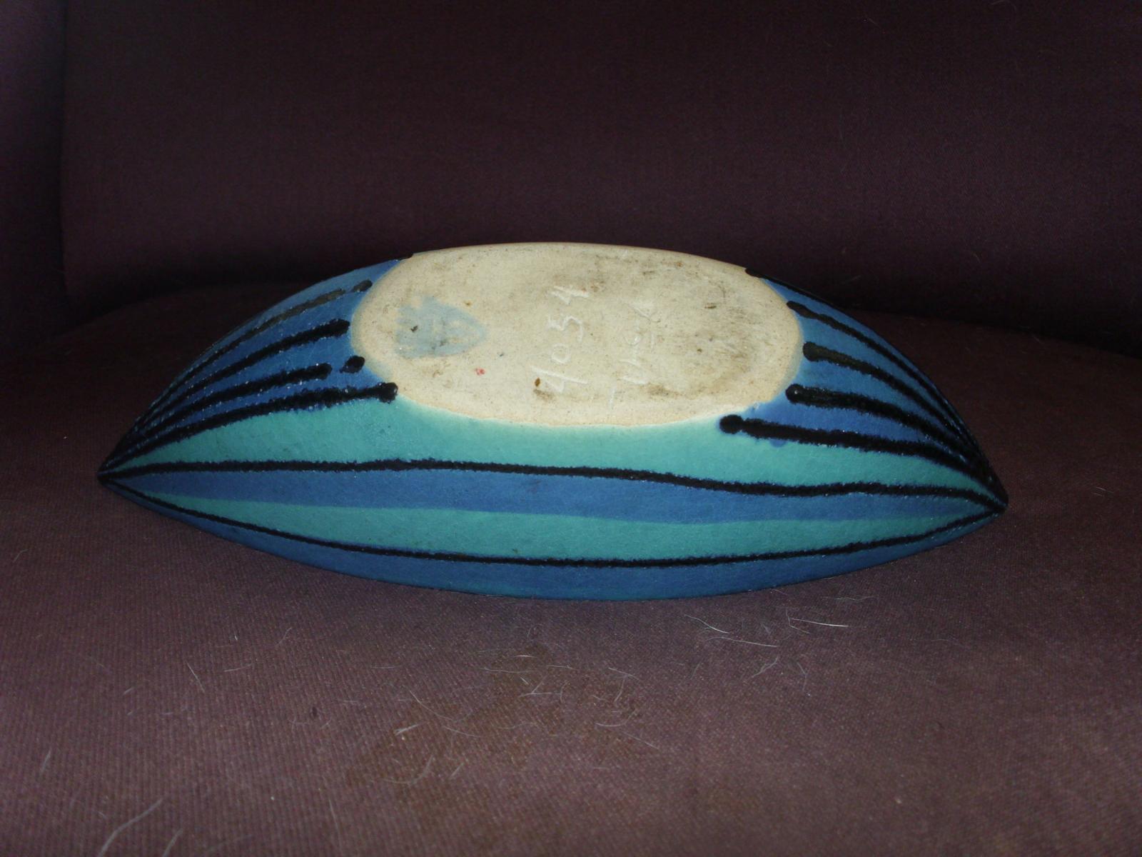Glidden Gulf Stream Elongated Bowl