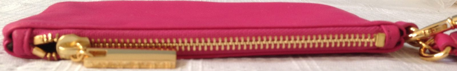 Torry  Burch Fashion Design Clutch Purse, Leather, Pink  image 5