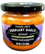 Trader Joe's Eggplant Garlic Spread with Sweet Red Peppers - $14.84