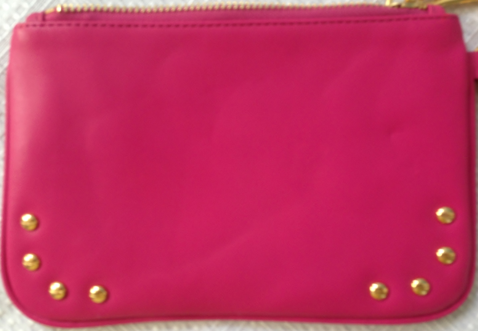 Torry  Burch Fashion Design Clutch Purse, Leather, Pink  image 9