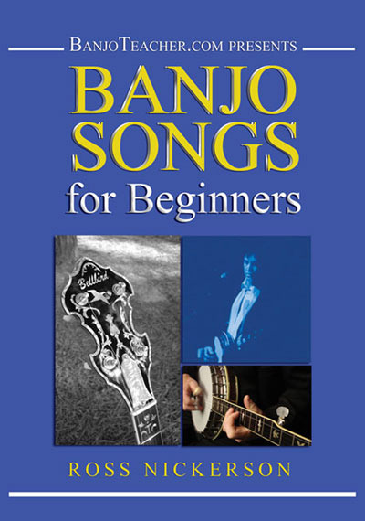 Banjo Songs For Beginners/PDF on CD with DVD Set/Sealed