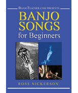 Banjo Songs For Beginners/PDF on CD with DVD Set/Sealed - $26.95