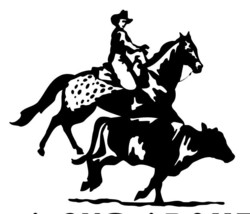 "Large 10"" Appaloosa Cutting Cattle  Horse Decal Truck Window Trailer Decal Car - $12.00"