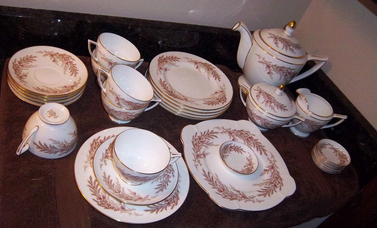MINTON Bedford 30 pieces: Teapot, Cups, Serve Plate, Plates, Mini Bowls, AMAZING - $261.00