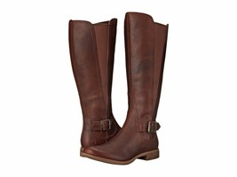 TIMBERLAND New Savin Hill All Fit Leather Stretch Gore Zip Boots Tall Br... - $1.848,47 MXN