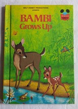 Walt Disney Productions Presents Bambi Grows Up Hardcover Book 1979 - $8.59