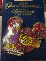 DISNEY SHANGHAI RESORT GRAND OPENING DAISY DUCK  LIMITED RELEASE PIN BRA... - $9.99