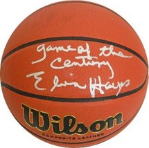 Elvin Hayes signed Wilson NCAA Indoor/Outdoor Basketball Game of the Century - $109.95