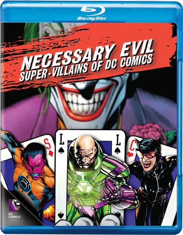 Necessary Evil-Villains Of Dc Comics (Blu-Ray)