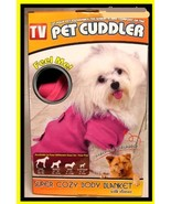 Pet Cuddler Pink Body Blanket Small Size Dogs - $15.71