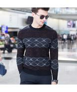 New sale spring autumn fashionable pollovers sweater men's sweaters long... - $155.40