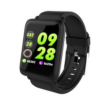 Sport Swim Smart Watch Gorilla Glass Blood Pressure Heart Rate Monitor IP68 - $33.48