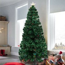 Christmas Tree Artificial Pencil Stand Decoration Idea 7.5ft - $173.99