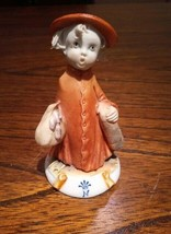 Capodimonte Lady Figurine - $38.61