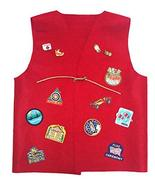 Cub Girl Boy Youth - Large Acrylic Felt Patch Vest for Patches (NO PATCH... - $17.77