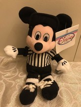 Vintage The Disney Store Referee Mickey Mouse Plush - $9.85