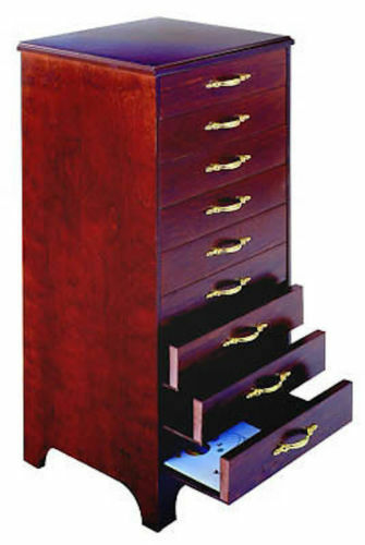 Primary image for Sheet Music Cabinet 9 Drawer Light Oak Storage Piano Organ Instrument