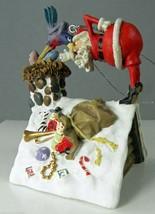 Rooftop Santas Bird Brain Comic Christmas Ornament D R Laird 2002 Reco 4... - $8.27