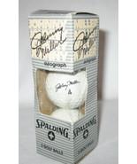 Vintage Golf Balls Johnny Miller Signature 3 Pack Spalding No. 4 Origina... - $29.99