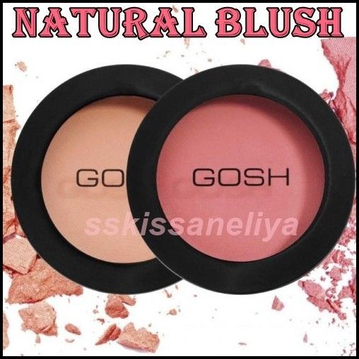 Gosh Natural Blush for Beautiful Finish Rose Whisper or Electric Pink 2 Shades - $13.45