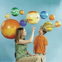 Inflatable Solar System Planets Imitation Learning Science Balloons Teac... - $42.56
