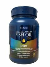 GNC Triple Strength Fish Oil Plus Joint Comfort Stiffness 60 Softgels Ex... - $19.80