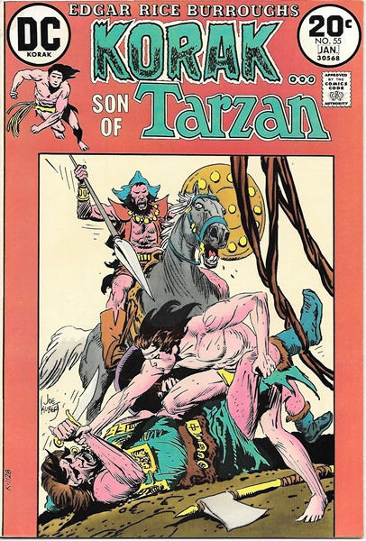 Primary image for Korak, Son of Tarzan Comic Book #55, DC Comics 1974 FINE-