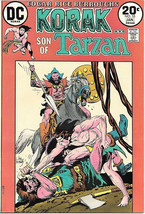 Korak, Son of Tarzan Comic Book #55, DC Comics 1974 FINE- - $5.24