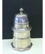 Modernist Christofle France Silverplate Jam Mustard Honey Jar Pot Glass ... - $168.29